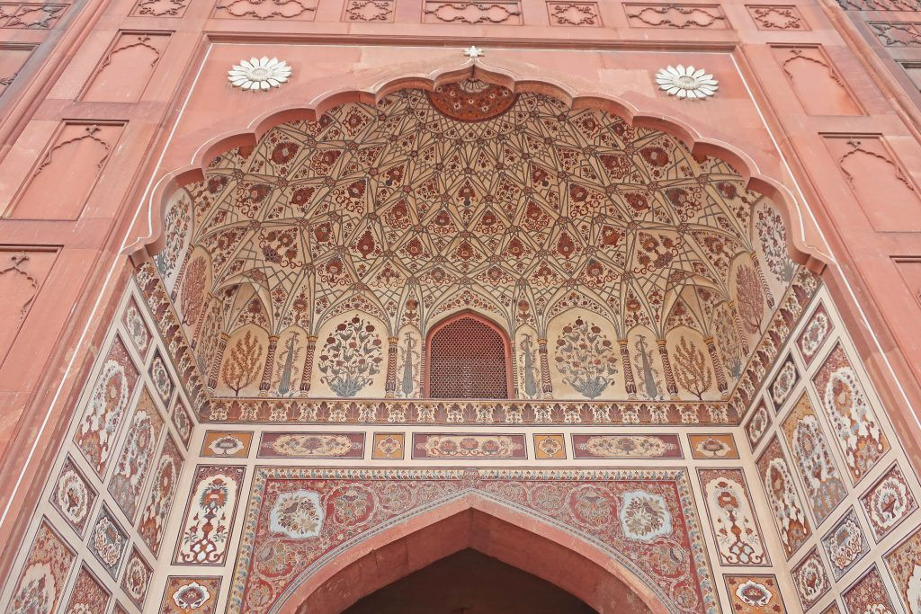 Entryway into the Badshahi Mosque