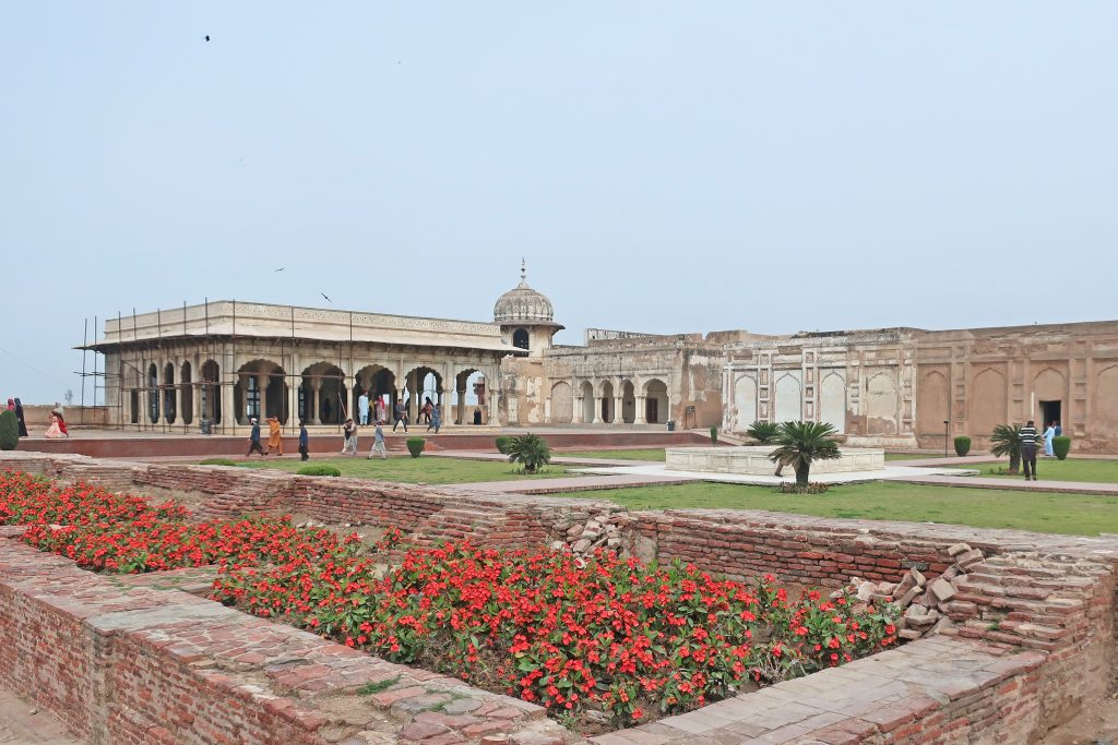 Jahangir's Quadrangle in the Lahore Fort