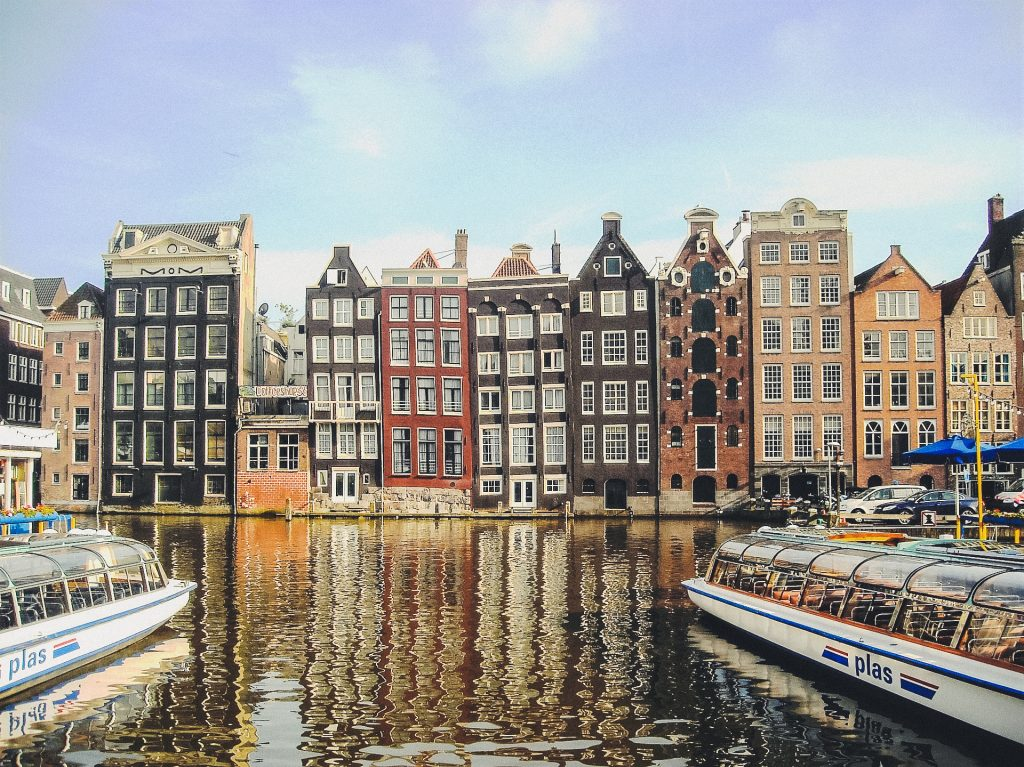 Dancing Houses of Amsterdam