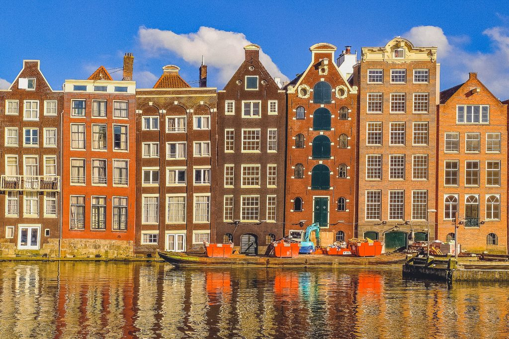 Dancing Houses in Amsterdam