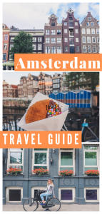 Amsterdam Sightseeing Map