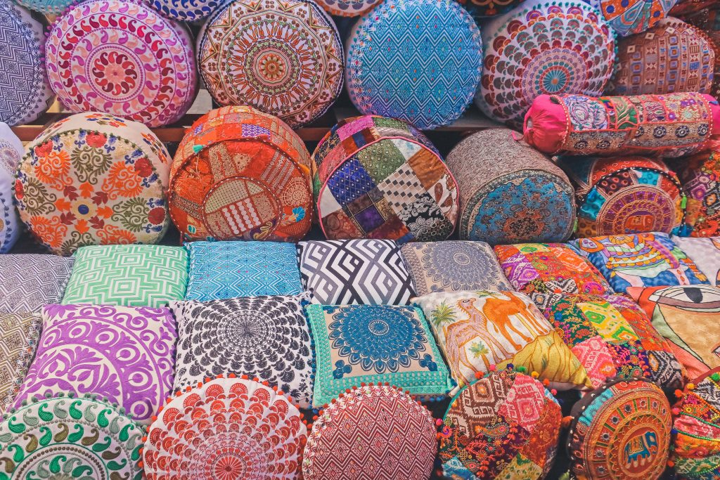 pillows on sale at souk