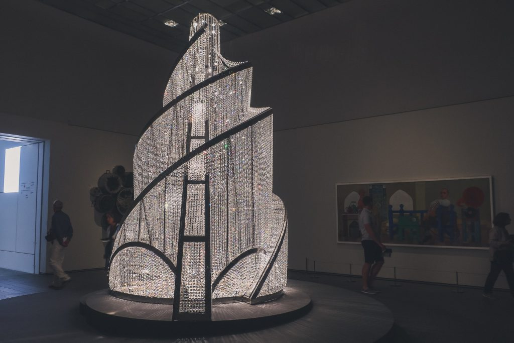 Louvre Abu Dhabi- Fountain of Light by ai weiwei