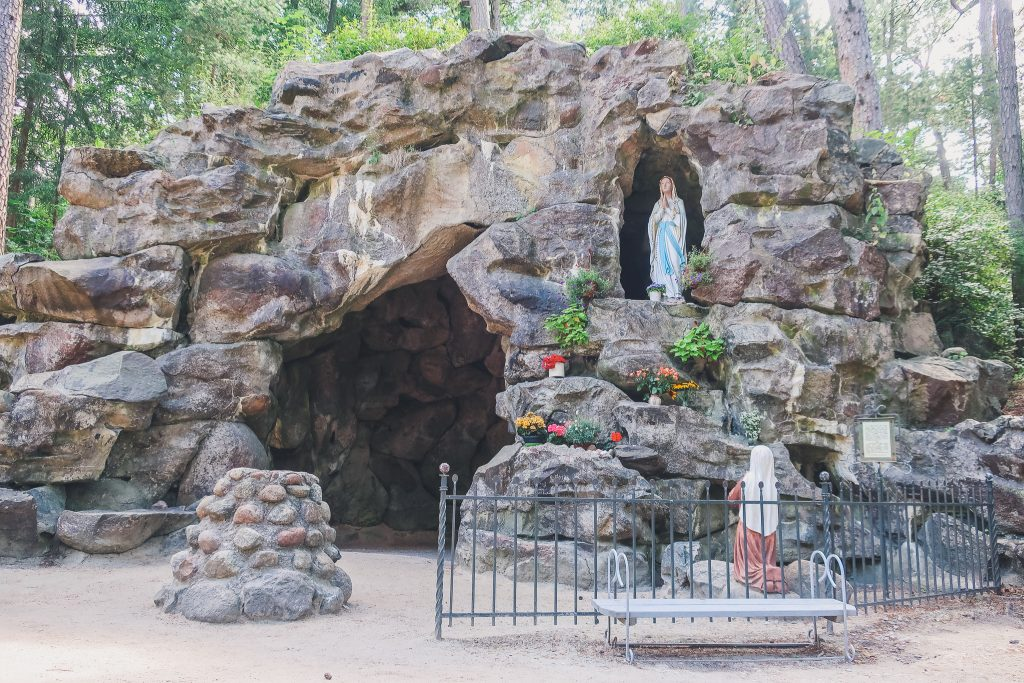 Grotto at Birutė Hill in Palanga Lithuania