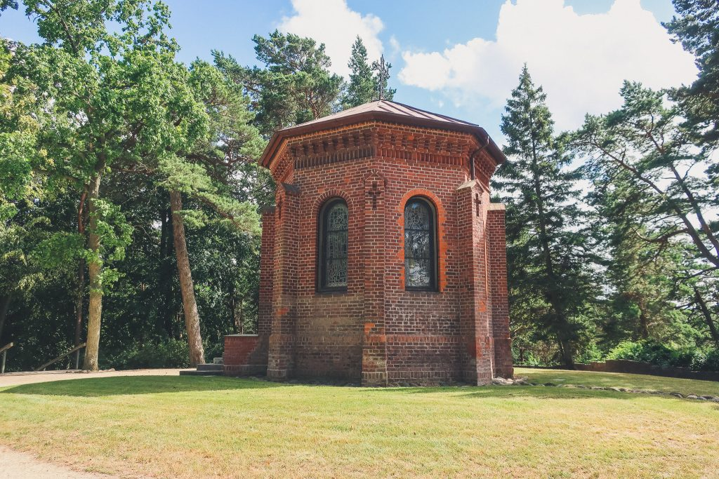 Little Chapel at the top of Birutė Hill.