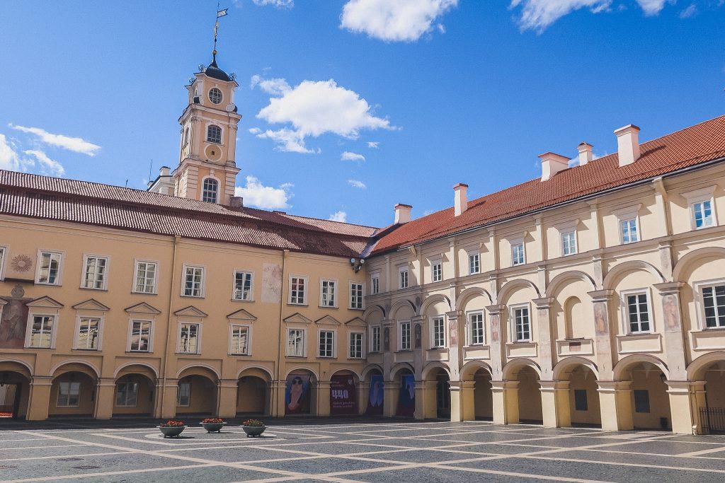 Vilnius University courtyard