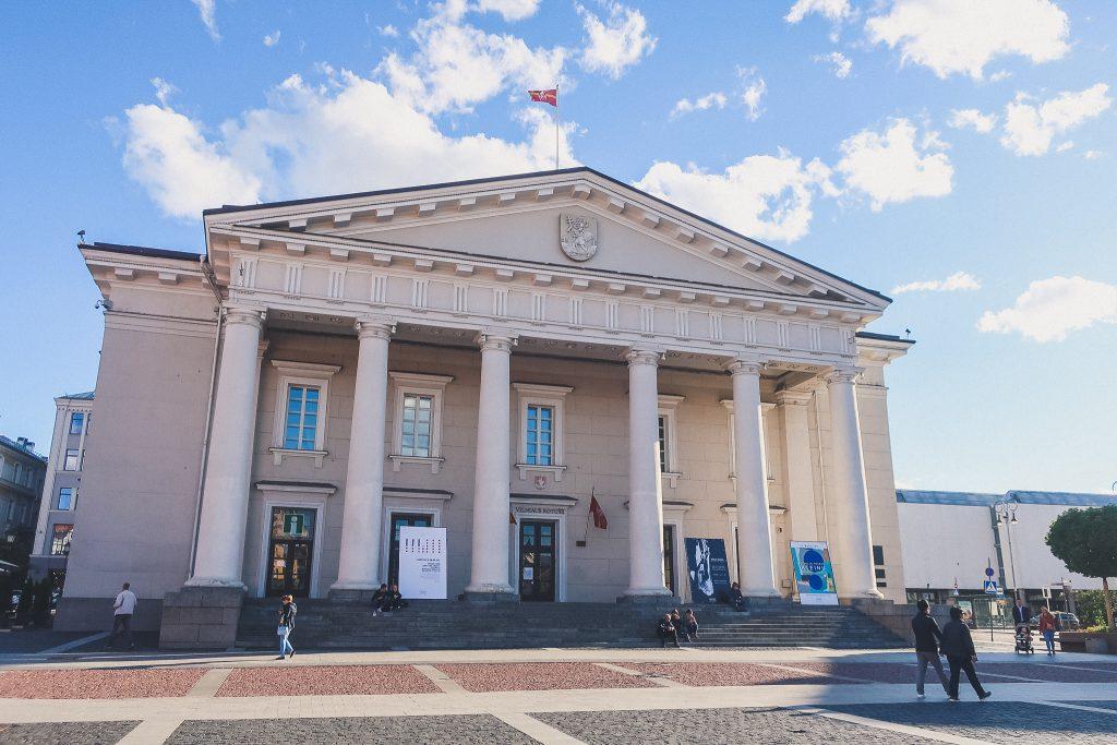 Vilnius Town Hall building