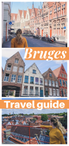 Bruges Tourist Map Pin