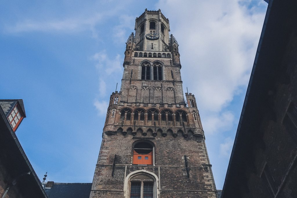 Tower of the Belfry of Bruges