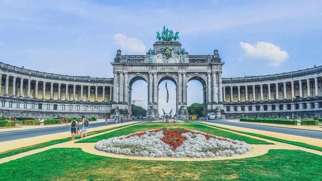 Triumphal Arch in Brussels, belgium