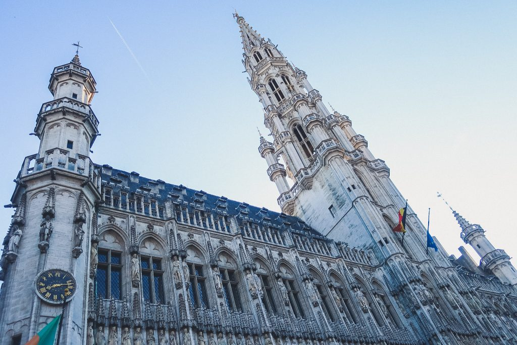 Brussels Town Hall Building