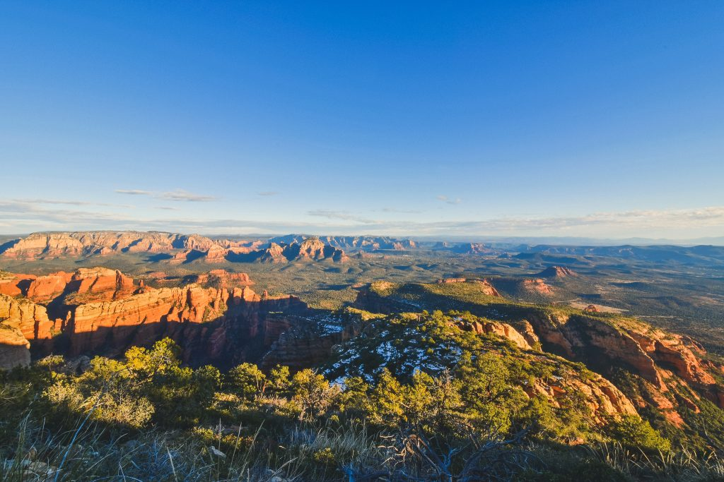 - sedona, arizona - 2019_01.09: bear mountain