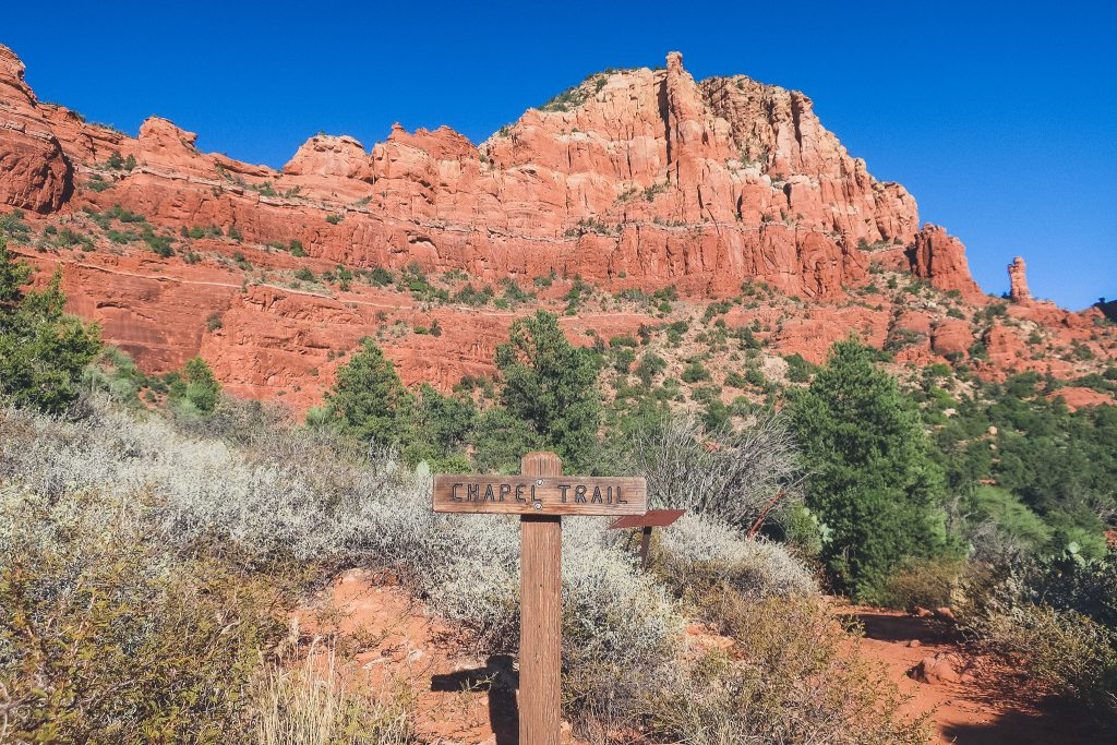Chapel Trailhead in Sedona