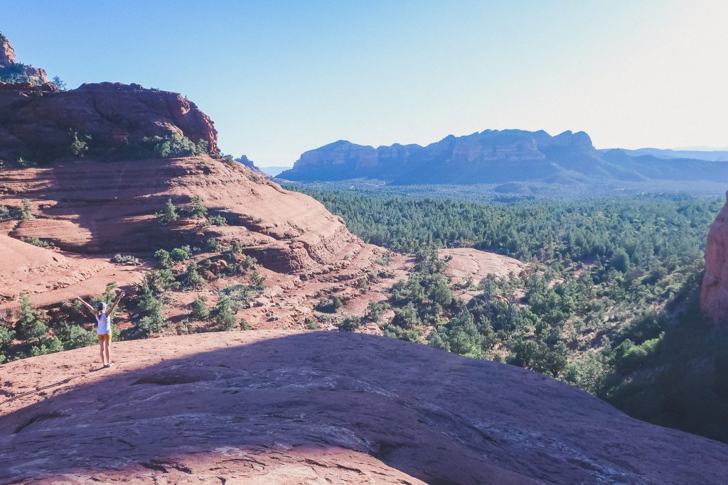 Views from Chicken Point Overlook in Sedona