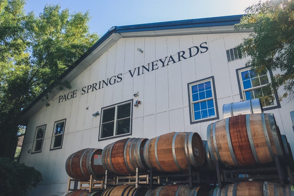 Page Springs Winery in Sedona