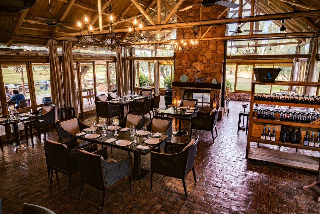 Algodon Wine Estates, dining room