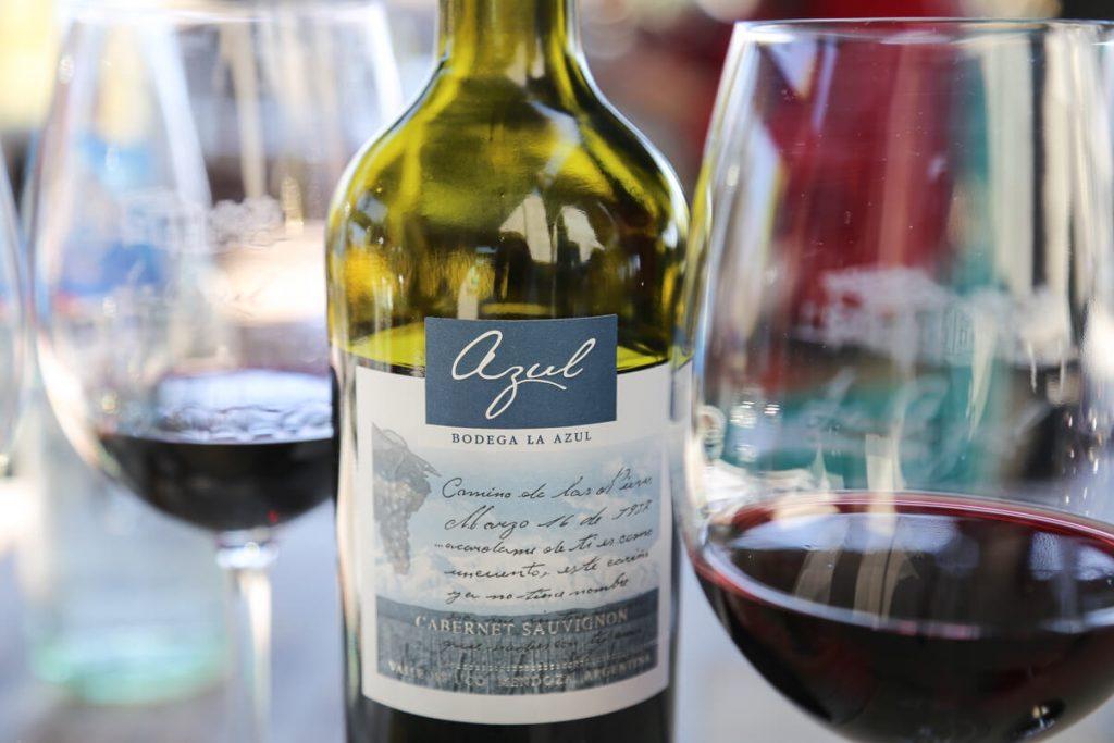 Bodega La Azul, wine