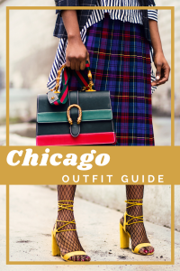 what to wear in Chicago pin