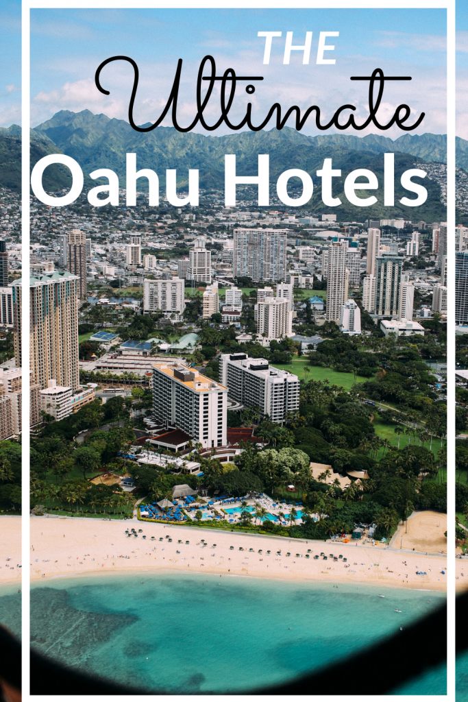 best places to stay in oahu pin