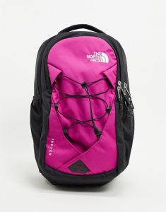 pink North Face backpack