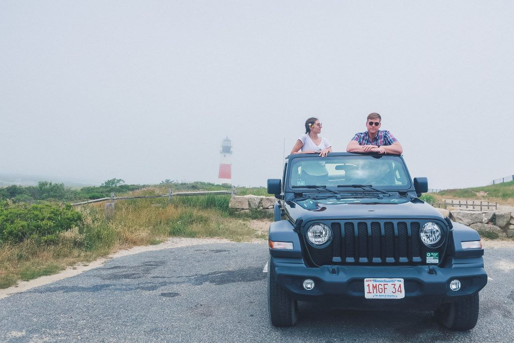 Jeep rental in Nantucket