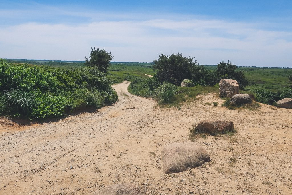 Alter rock trail, Nantucket Island