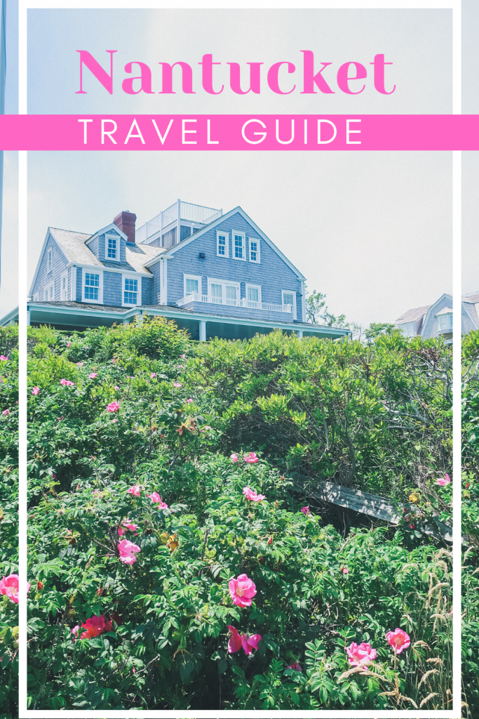 Nantucket tourist map pin