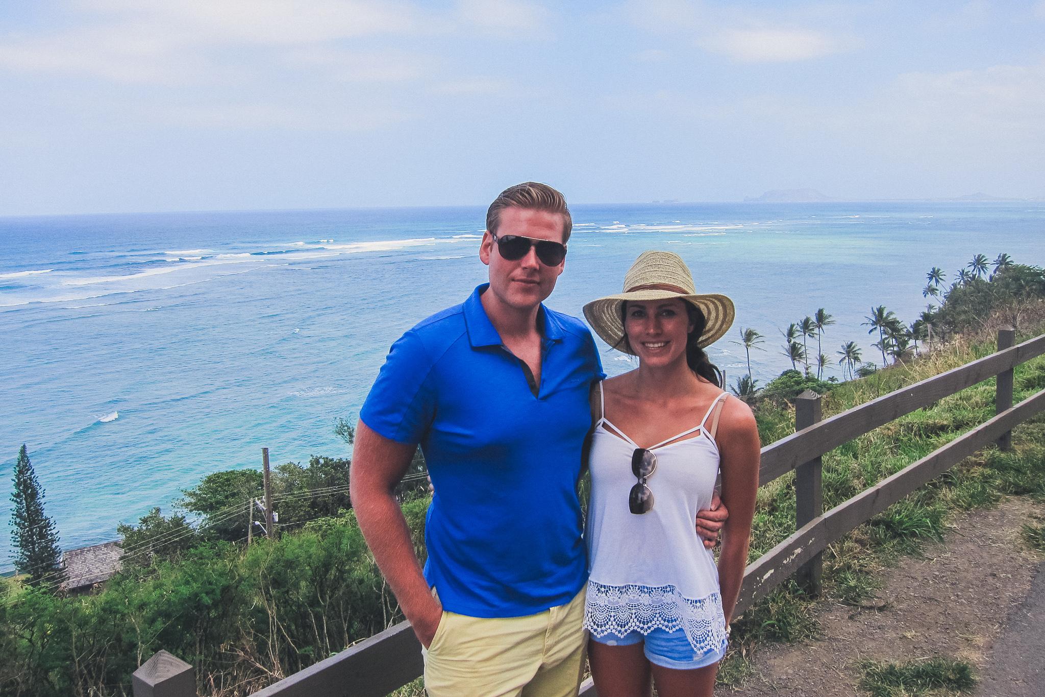 couple in Oahu