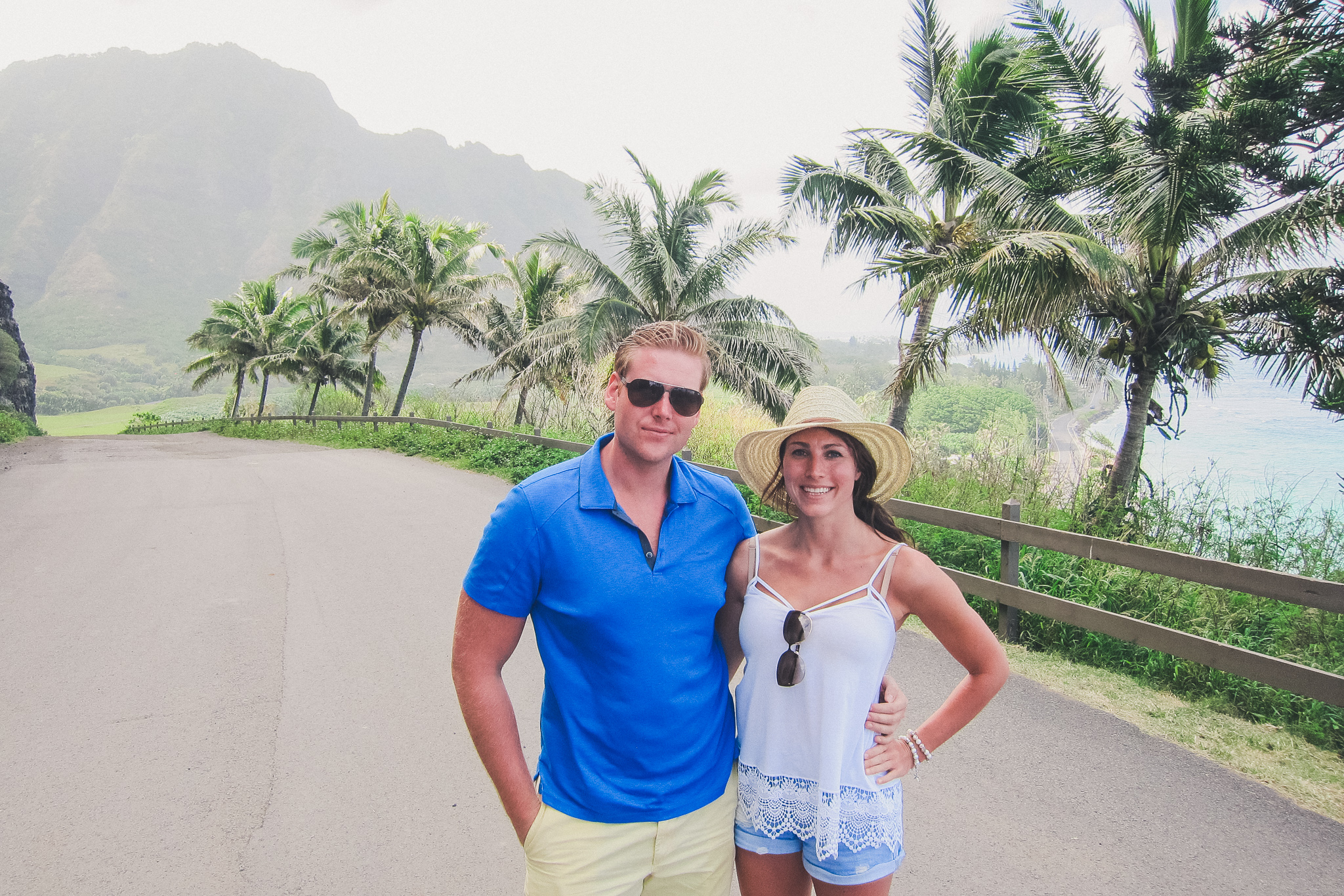 couple in Hawaii