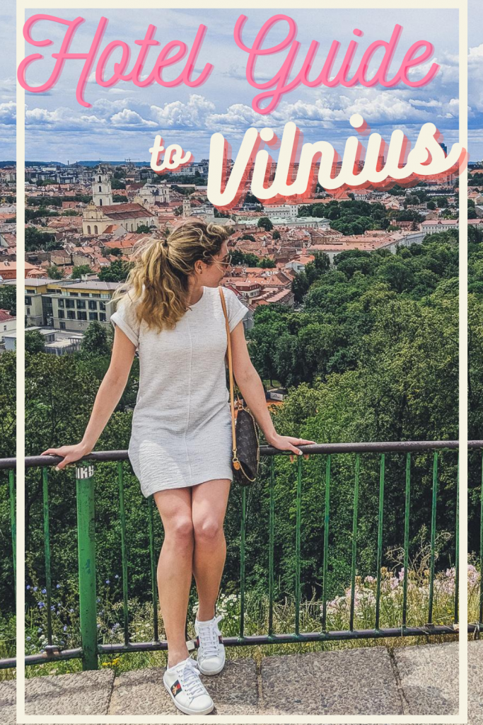 best hotels in vilnius pin