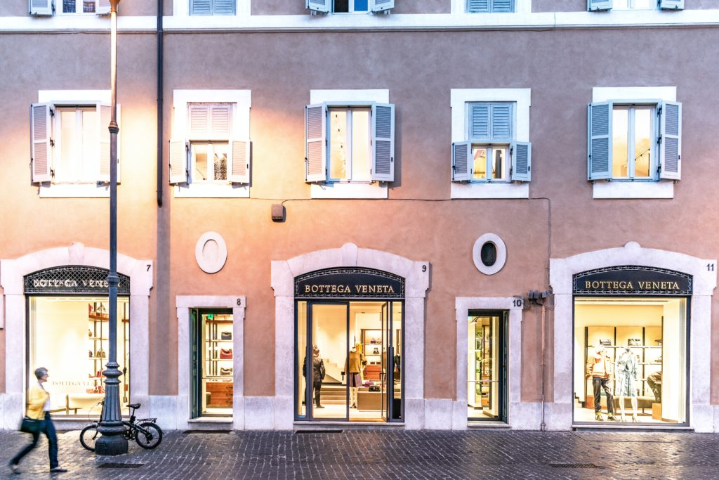 luxury boutique in rome