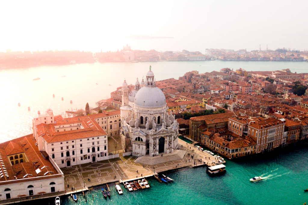 Ariel view of Venice