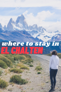where to stay in el chalten pin