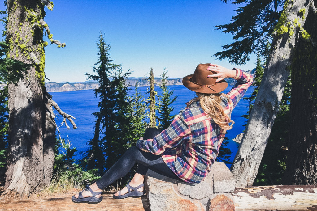 exploring Crater Lake from Bend Oregon