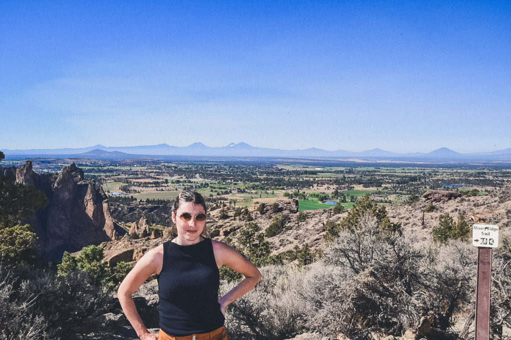 views from Misery Ridge Trail and Smith Rock State Park