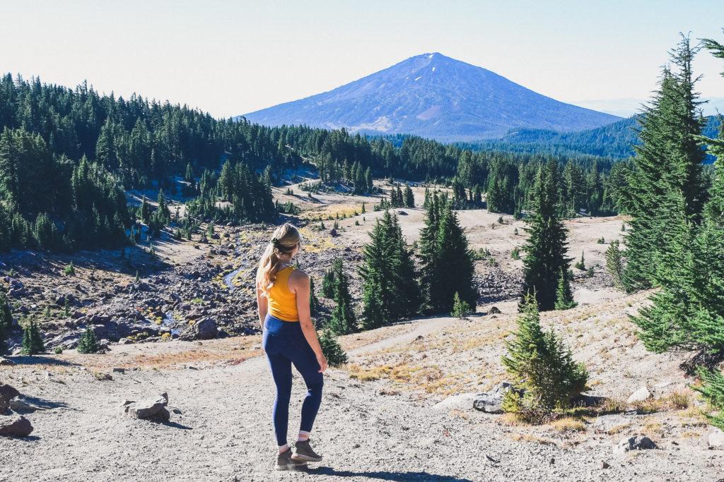 hiking to No Name Lake