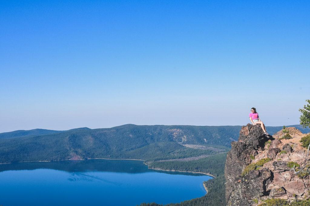 views from Paulina Peak at Newberry National Volcanic Monument
