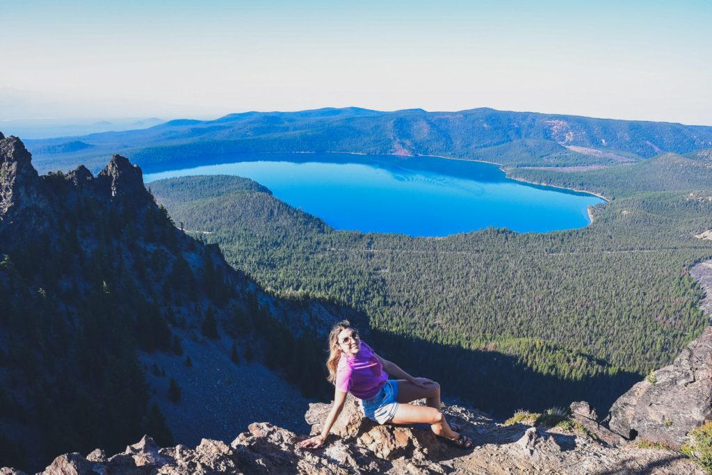Newberry National Volcanic Monument, views from Paulina Peak