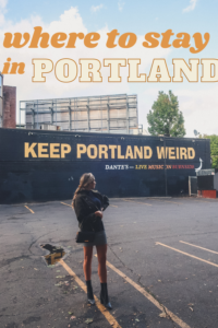 best places to stay in Portland Oregon